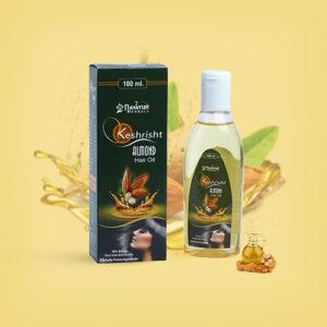 Keshrisht Almond hair oil
