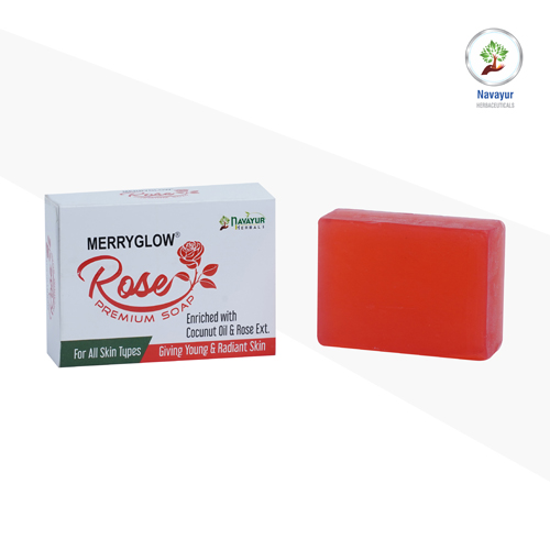Merry Glow Rose Soap