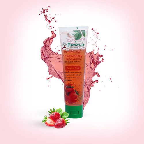 Merry Glow Strawberry Face Wash